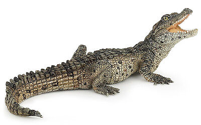 Papo 50137 Baby Crocodile Wild Reptile Animal Figurine Model Toy Gift - NIP