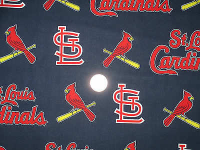 """3 Yards St. Louis Cardinals 100% cotton Fabric """"No longer available in stores"""""""