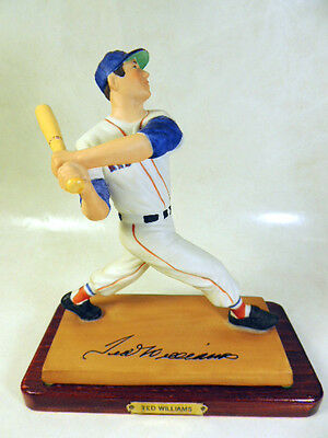 """1989 Sports Impressions Ted Williams Boston Red Sox Limited Edition 7"""" Statue"""