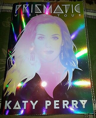 KATY PERRY: PRISMATIC WORLD TOUR BOOK!! RARE!! VIP SOLD OUT!!