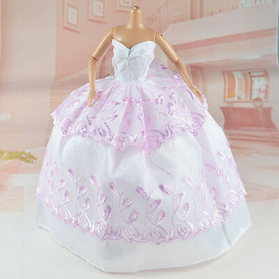 New 'WEDDING COLLECTION'-Barbie Doll Evening Dress