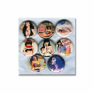 KATY PERRY - PINS / BUTTONS (teenage dream california girls poster shirt print)