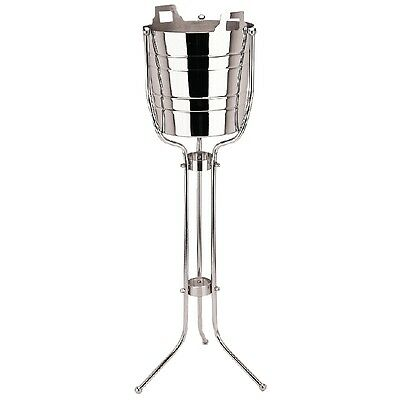 Stainless Steel Champagne & Wine Bucket with Stand, double walled SS ice bucket!