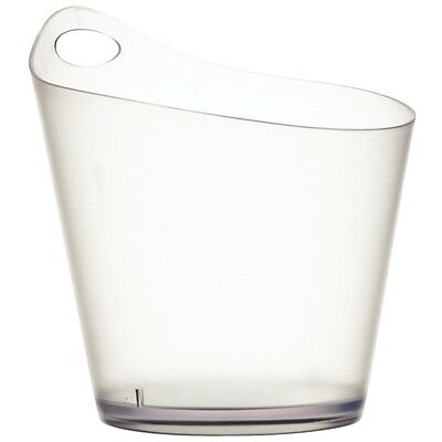 Salsa Wine Bucket, Stackable acrylic wine bucket which can be carried by handle