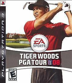 Tiger Woods PGA Tour 08  (Sony Playstation 3, 2007)