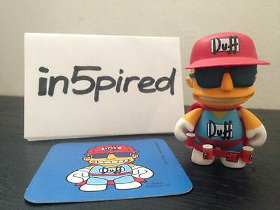 Kidrobot x Simpsons Series 1 - Duffman - 1/48 - Rare - Complete Figure - No Box