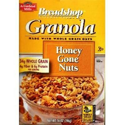 Breadshop Granola 52374 Honey Gone Nuts Granola