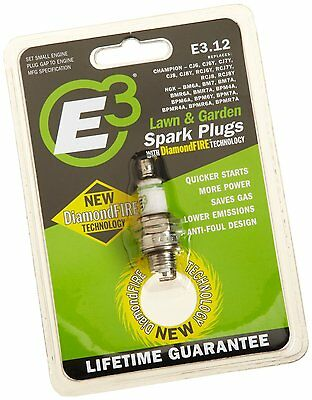 E3 Spark Plugs E3.12 Small Engine and Lawn and Garden Spark Plug , Pack of 1 , N