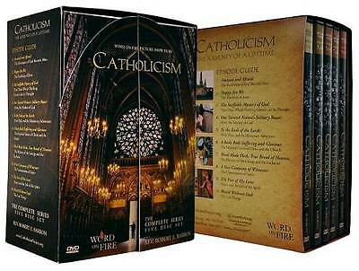 Catholicism: The Complete Series (DVD, 2011, 5-Disc Set) NEW