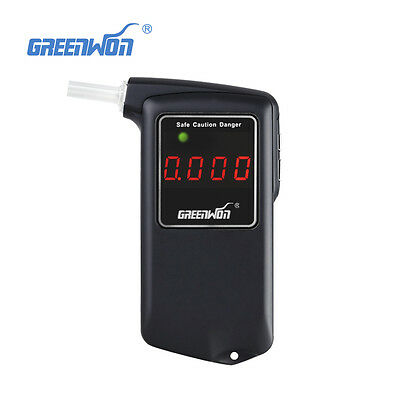 Greenwon New 858S high Accuracy Police Digital Breat AlcoholTester Breathalyzer