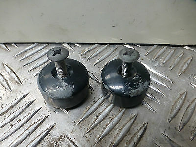 Honda Fjs600 Silverwing 2001 Original Bar End Weights See Description