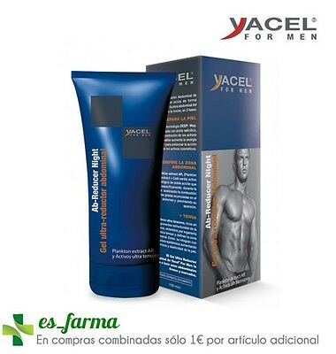 Yacel For Men Gel Ultra Reductor Grasa Abdominal Hombre Ab Reducer Night 150 Ml