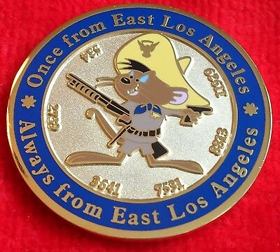 CALIFORNIA HIGHWAY PATROL EAST LOS ANGELES CHALLENGE COIN (ELA CHP LAPD POLICE)
