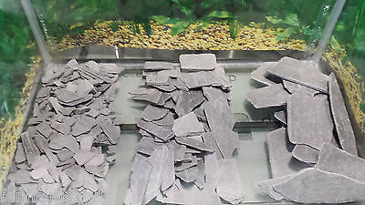Fennstones natural slate stone rock gravel sand substrate aquarium fish tank