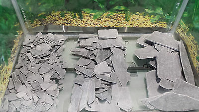 Fennstones slate stone rock gravel aquarium fish tank craft miniature garden