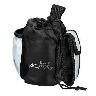 Pet Dog Activity Bag Treat Pouch Dispenser with 3 Pockets & Belt Loop by Trixie