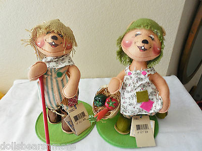 "NWTMINT! Annalee 10"" Betty & Billy Bear! #2801/2802 From 1998! VERY OLD Annalee"