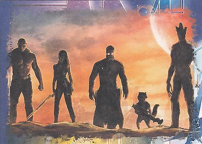 Guardians Of The Galaxy - G17 Oversized 5X7 Box Topper The Guardians