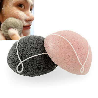 New Soft Pure Natural Konjak Facial Cleansing Cleaning Washing Sponge Ball