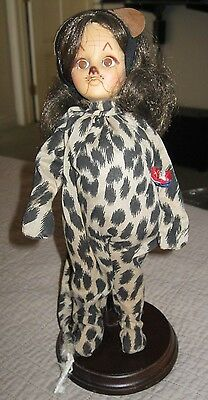 """COWARDLY LION"" Effanbee Wizard of Oz Doll 1970's Vintage"