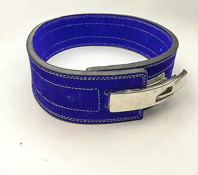 Powerlifting Lever Buckle 10mm Belt Strongman Crossfit Gym Weight Lifting