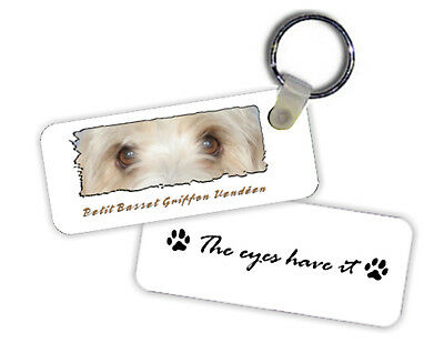 Petit  Basset  Griffon  Vendeen   The  Eyes Have It   Key  Chain