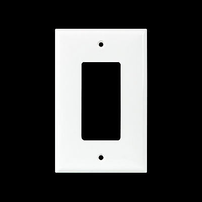 Decorator MidSize GFCI Wall Plate Unbreakable Nylon Face Plate 1 to 6 Gang 10 PK