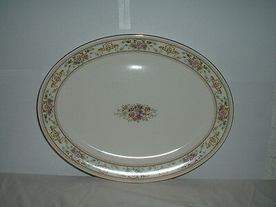 """Royal Doulton Alton 13 1/2"""" Oval Serving Platter Made in England H5055"""