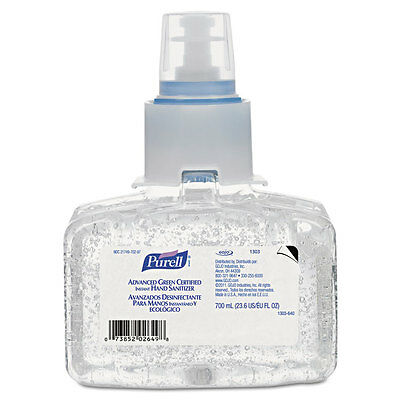 Advanced Green Certified Instant Hand Sanitizer Refill Gel, 700 mL, LTX7