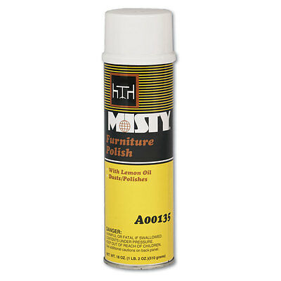 Furniture Polish, Citrus Scent, 20 oz. Aerosol Can
