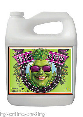 Big Bud 250ml - Flowering Booster Advanced Nutrients OFFICIAL NOT DECANTED