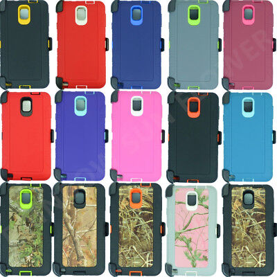 for Samsung Galaxy Note 3 Case Cover(Belt Clip fits Otterbox Defender) w/Screen