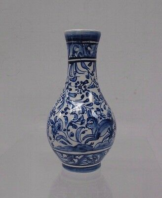 Hand Painted Vase Louca de Coimbra Made in Portugal #559A