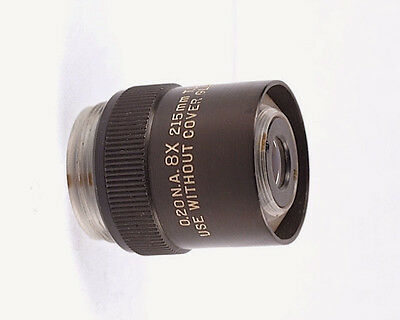 Bausch & Lomb 8x /0.2 215mm Microscope Objective