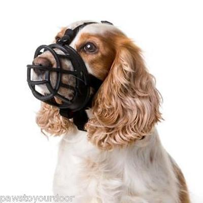 Baskerville Ultra Adjustable Dog Muzzle sizes 1 2 3 4 5 6 Basket Style Training