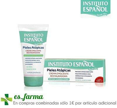 Instituto Español Crema Restauradora Emoliente Pieles Atopicas 150 Ml Atopic