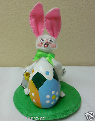 """NMWT! 2012 Annalee 5"""" """"ARTIST BUNNY"""" Doll Figurine #200812 Cute Easter Annalee"""