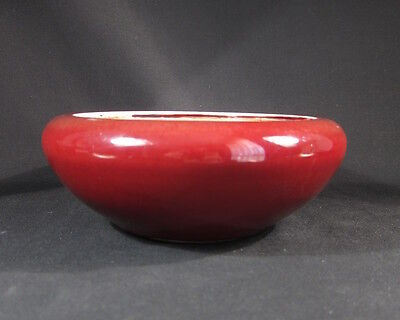 Beautiful antique Chinese Sang de Beouf, ox blood bowl- flawless
