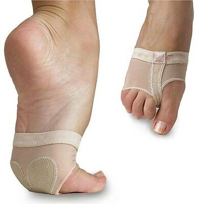 Belly Ballet Dance Paws Cover Foot Forefoot Toe Undies Thong Half Lyrical Socks