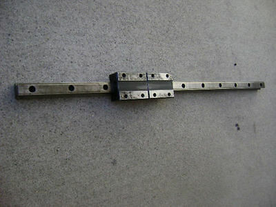 ROUNTER CNC LINEAR ACTUATOR slide rail 25 in long THK-20TBA bearing block