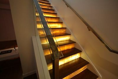 Steps Stairs Stairway --- LIGHTING Kit LED --- Safety Lights Contractor QUALITY