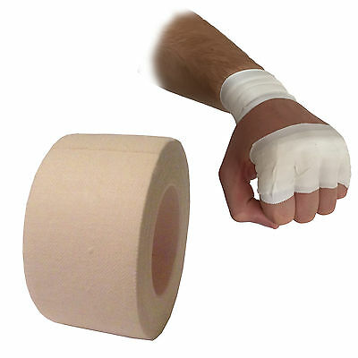 Boxing Martial Arts Mma Wrist Finger Knuckle Hand Zinc Oxide Wrap Tape 2.5Cm 5M