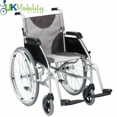 Enigma Ultra Lightweight Aluminium Folding Self Propelled Wheelchair