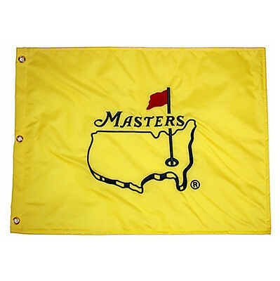 Masters Golf Pin Flag UNDATED Embroidered Augusta National  - Ships Now!
