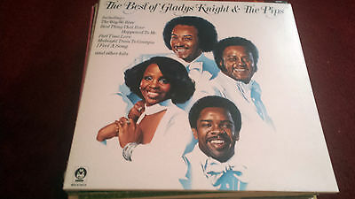 70's SOUL LP THE BEST OF GLADYS KNIGHT & THE PIPS U.K. BUDDAH