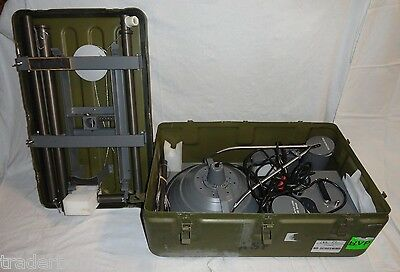 Light, Surgical, Field, Portable, Dual Power Source 110V & 24V Sfl-2204 Military