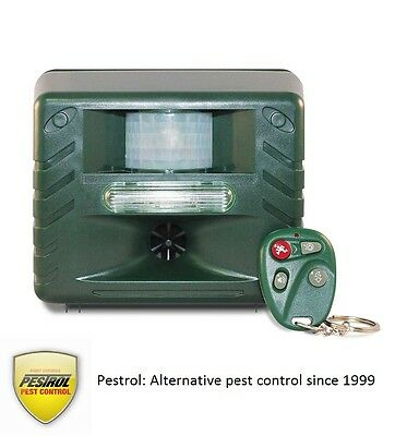 Electronic Bird Repeller by Pestrol get rid of pigeons, minor birds and more!