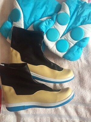 Hot Dramatical Murder DMMD Seragaki Aoba Cosplay BOOTS SHOES and Covers