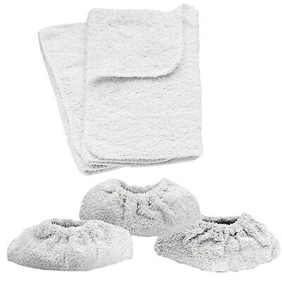 KARCHER Steam Cleaner Hand Tools Terry Cloth Covers & Washable Cotton Cover Pads