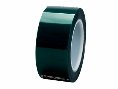 3M High Temp Polyester Masking Tape Powder Coating 1/2 in X 72 yd (1 Roll)